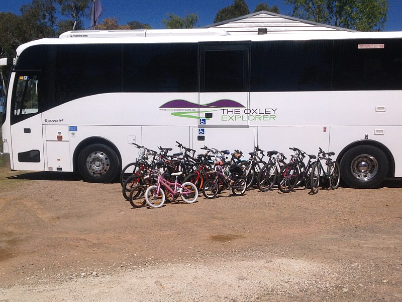 Push bikes destined for Kokoda, PNG